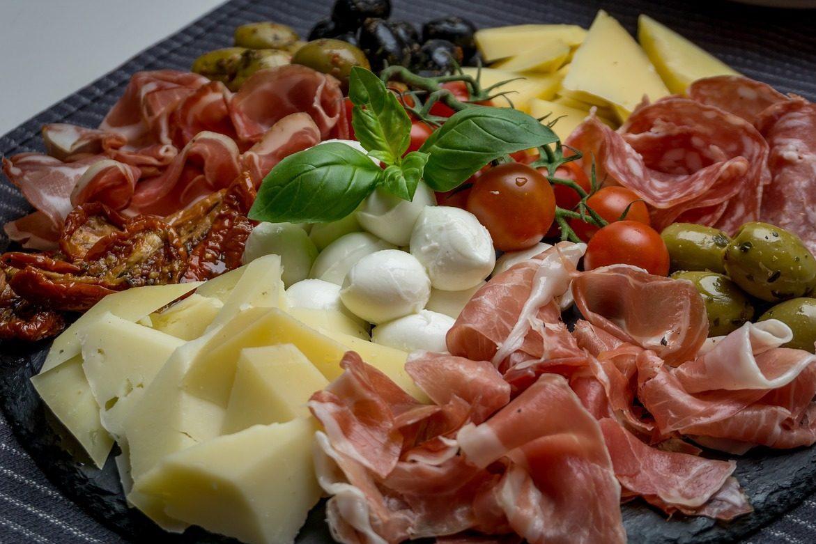 Antipasto Italiani salumi e formaggi